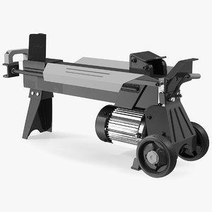 log splitter electric splitting model