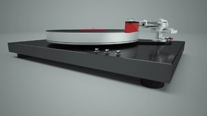 turntable jelco tonearm 3D model