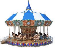 Horse Carousel Toys