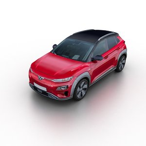 2019 hyundai kona electric 3D model