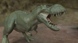 3D realistic vastatosaurus rex model