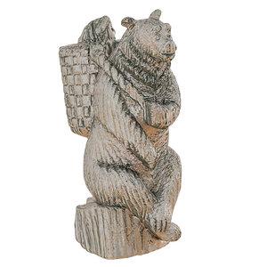 park sculpture masha bear 3D model