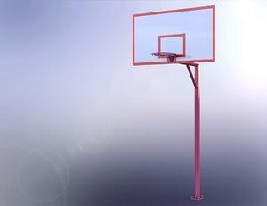 3D basketball unit
