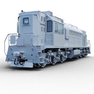 3D tem18 locomotive model