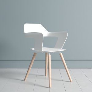 3D idesk muse guest chair