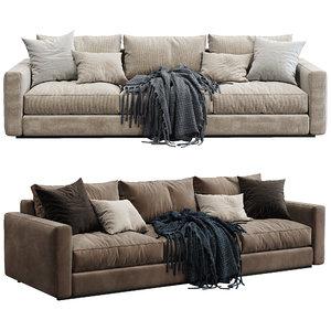 3D ferlea sofa simple 2