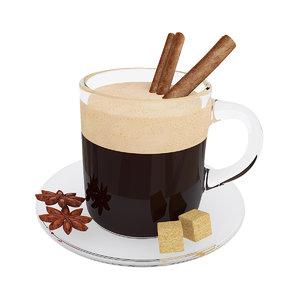 coffee mug cinnamon model