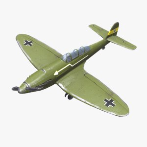 heinkel 112 pbr 3D