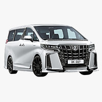 2018 Toyota Alphard TRD