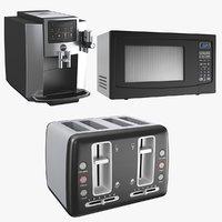 Three Kitchen Appliances