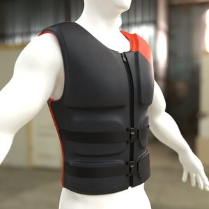 life vest 3D model