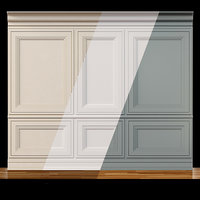 Wall molding 13. Boiserie classic panels