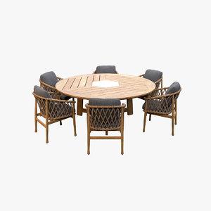 dining table v7 3D