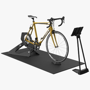 smart cycle trainer bronze 3D model