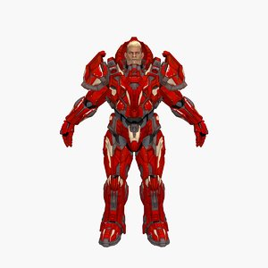 3D model cyber ares