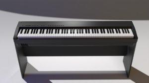 3D model digital piano yamaha