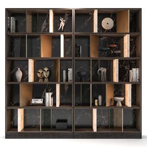 bookcase medea 3D model