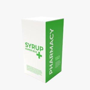 syrup box model
