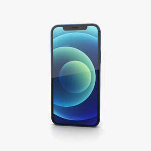 3D iphone apple phone model