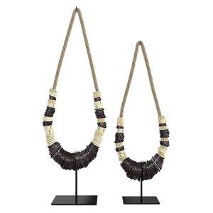 necklace restoration hardware indonesian 3D