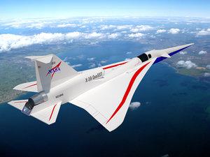 nasa quesst supersonic sonic 3D model
