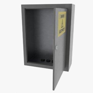 box switchboard board 3D model