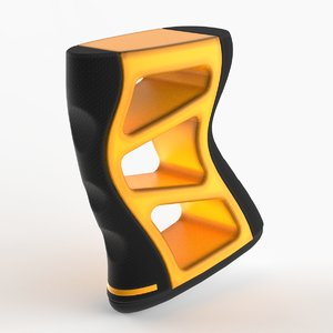 3D model modern grip