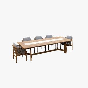 dining table v9 3D