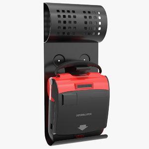 3D automated external defibrillator wall