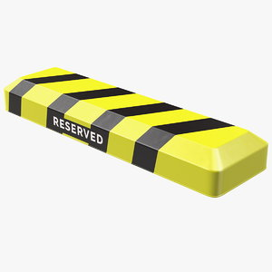 automatic parking barrier remote control 3D