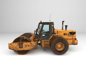 bulldozer site excavator model