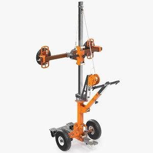 3D glass vacuum lifting machine