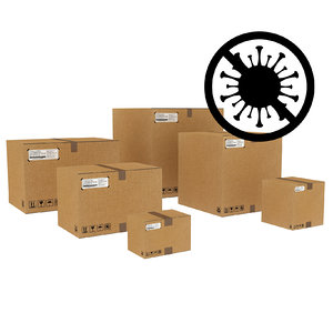 3D corrugated boxes