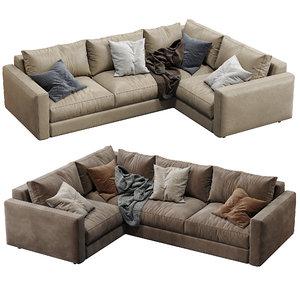 3D ferlea sofa simple model