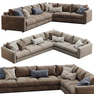 3D model ferlea sofa simple