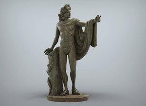 apollo greek roman print model