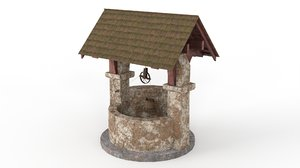 old stone 3D model