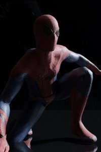 3D model amazing spiderman