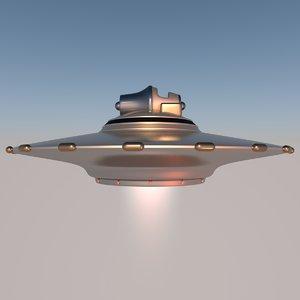 ufo pleiadian type 3 3D model