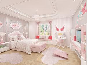 girls bedroom design model