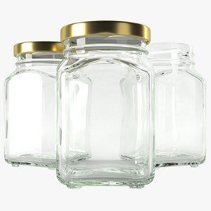glass jar type3 model