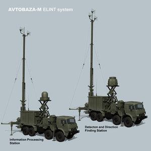 3D avtobaza-m russian elint