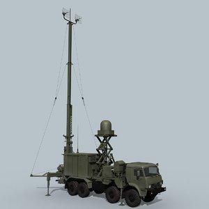 russian avtobaza-m 3D model