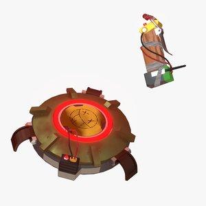 landmine detonator junkrat model