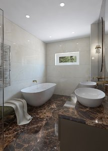 3D bathrom model
