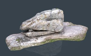 3D rock 37 model
