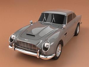 3D model 1963 aston martin db5