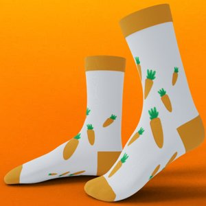 socks rigged 3D model