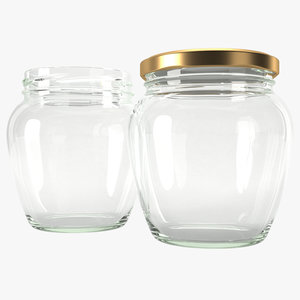 jar glass type5 model