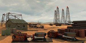 3D desert site project civil